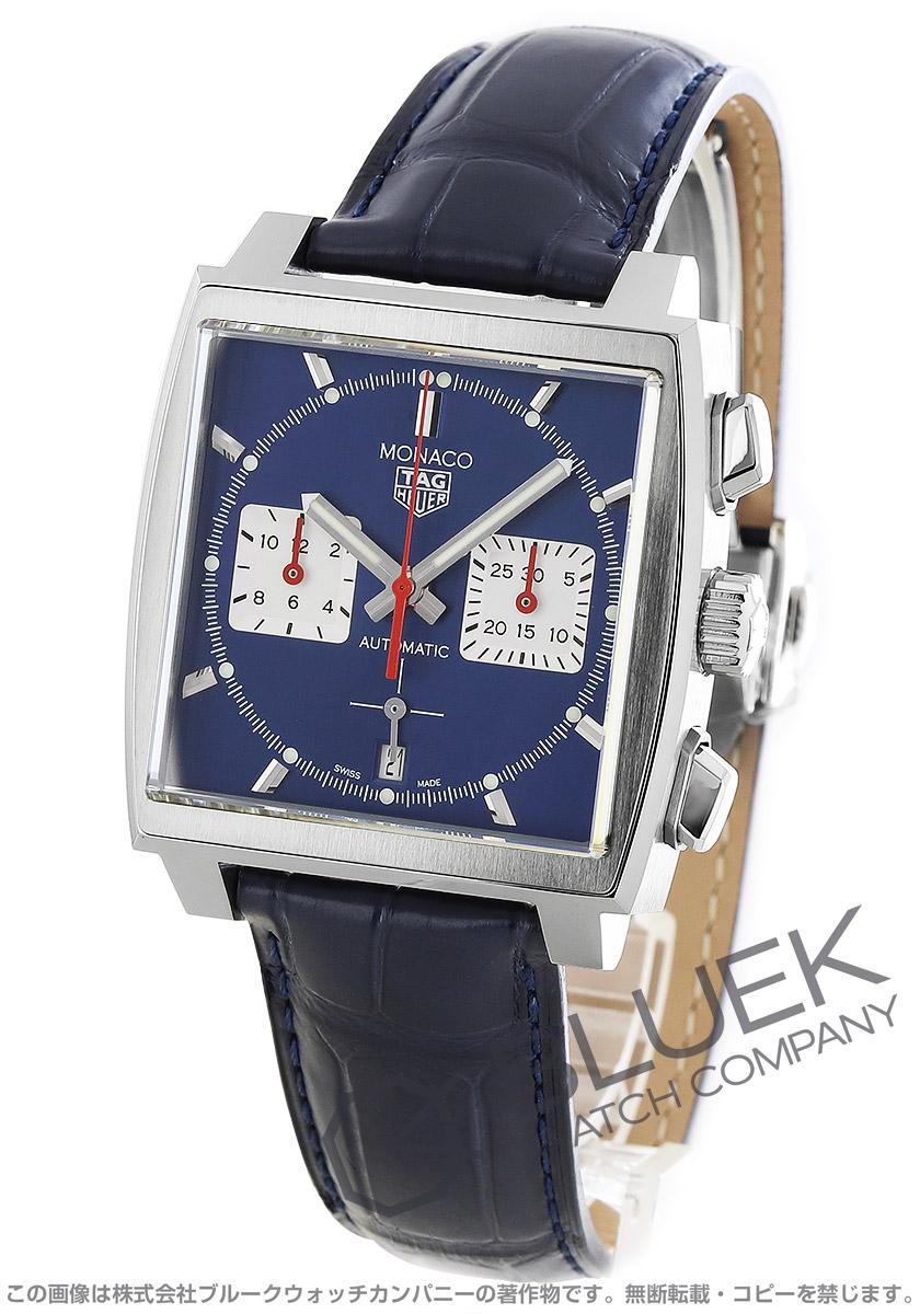 タグホイヤー モナコ クロノグラフ アリゲーターレザー 腕時計 メンズ TAG Heuer CBL2111.FC6453