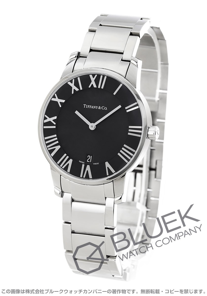 outlet store fb6ef 99ff2 ティファニー アトラス ドーム 腕時計 メンズ TIFFANY Z1800.11.10A10A00A