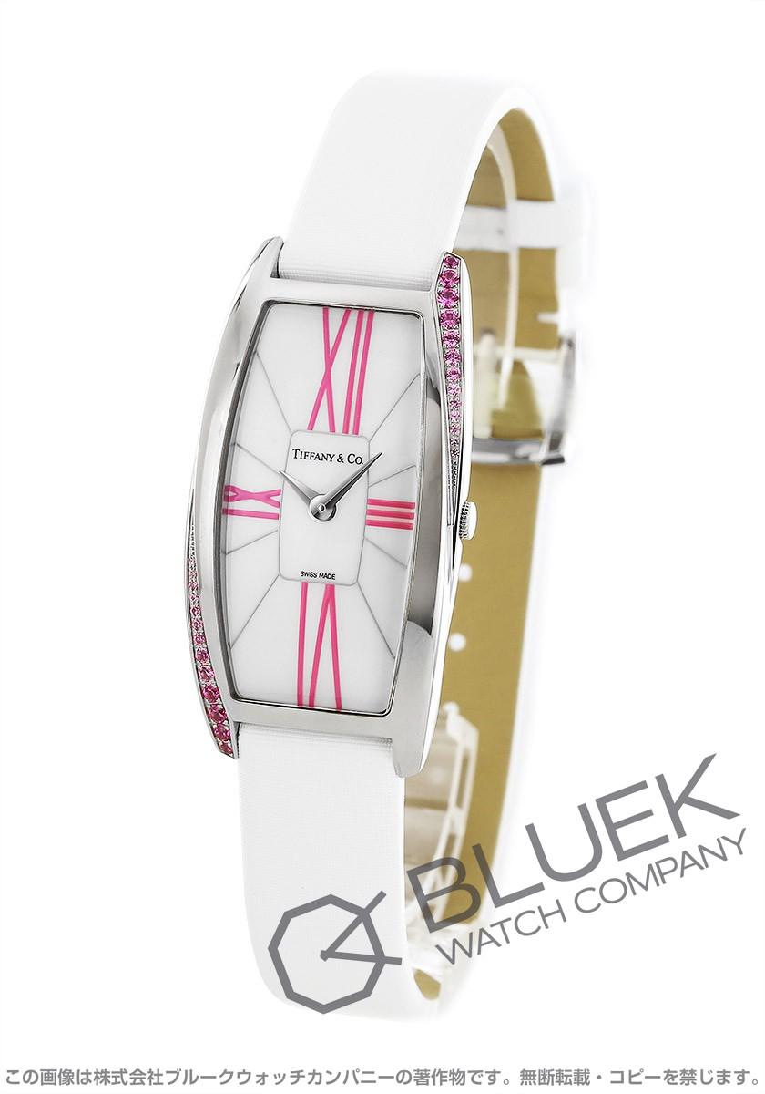 ティファニー ジェメア サテンレザー 腕時計 レディース TIFFANY Z6401.10.10129A48I