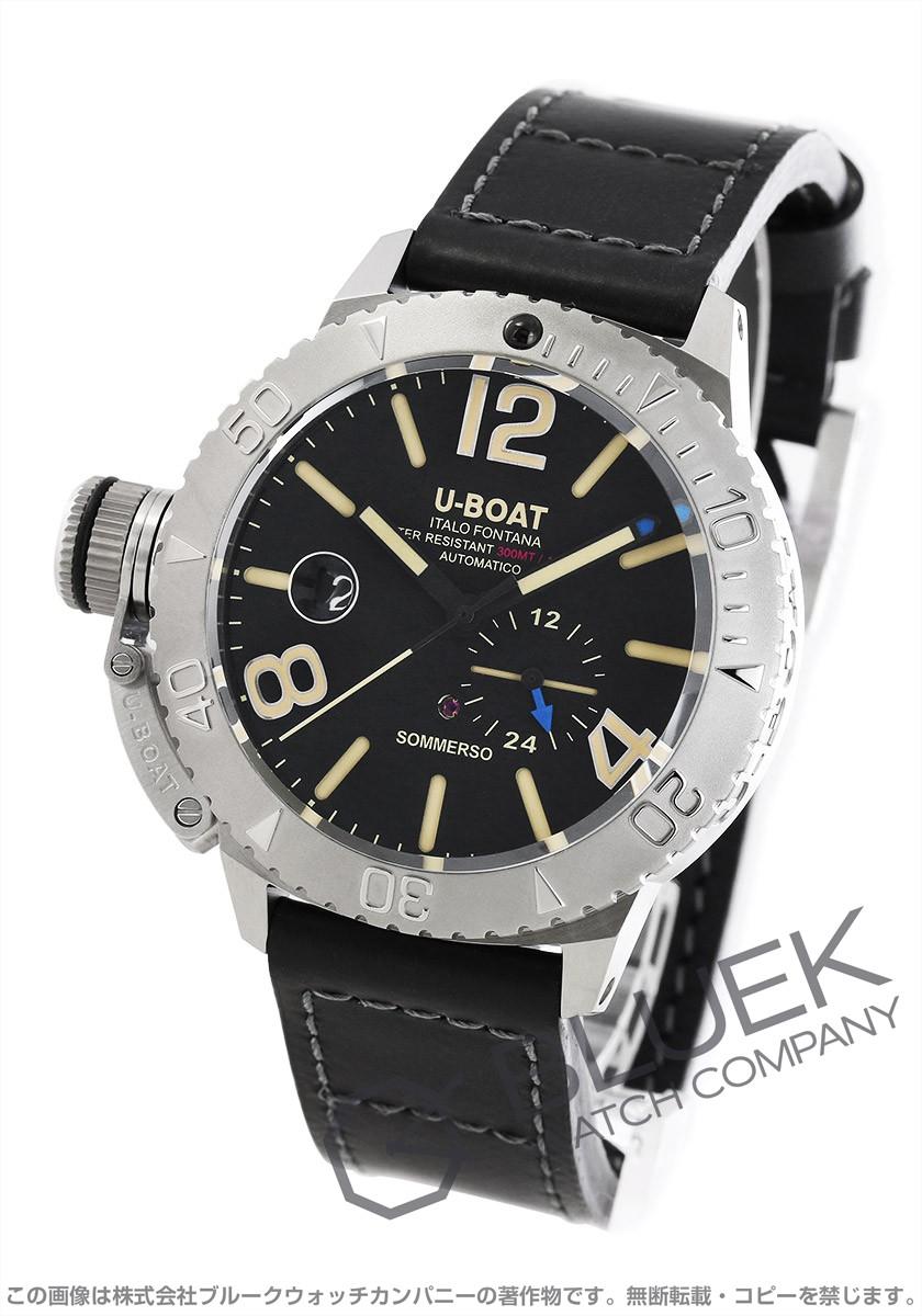 ユーボート クラシコ ソンメルソ 300m防水 腕時計 メンズ U-BOAT 9007A