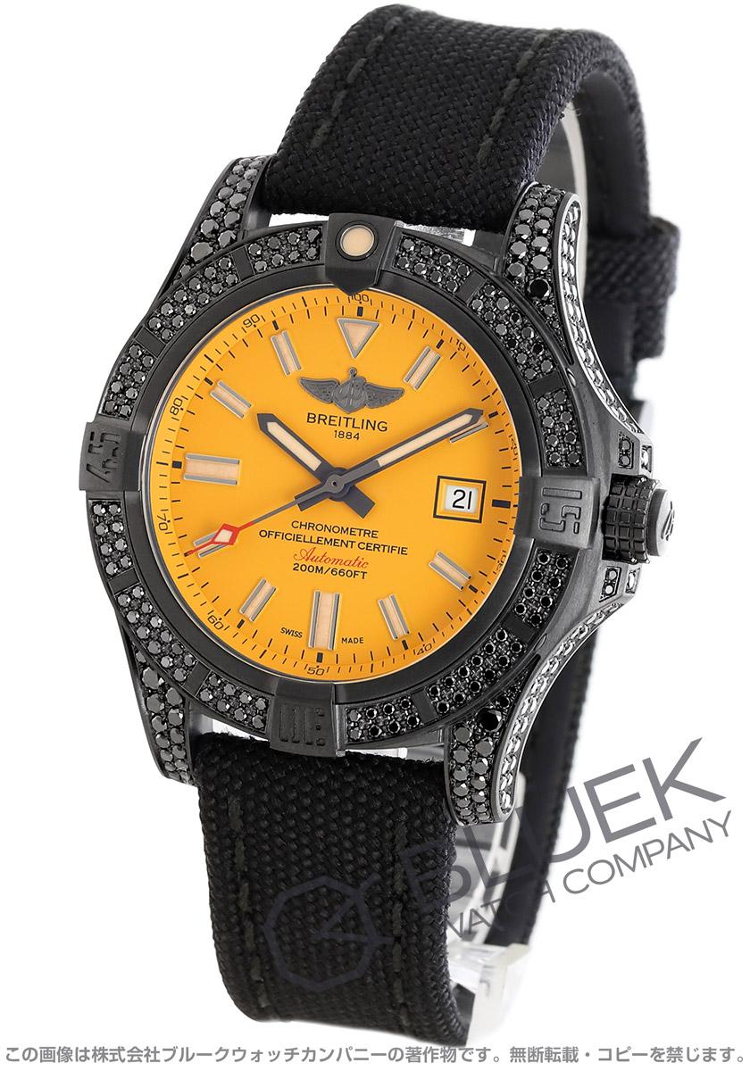 ブライトリング アベンジャー ブラックバード 44 ダイヤ 腕時計 メンズ BREITLING V17311AU/I526/109W