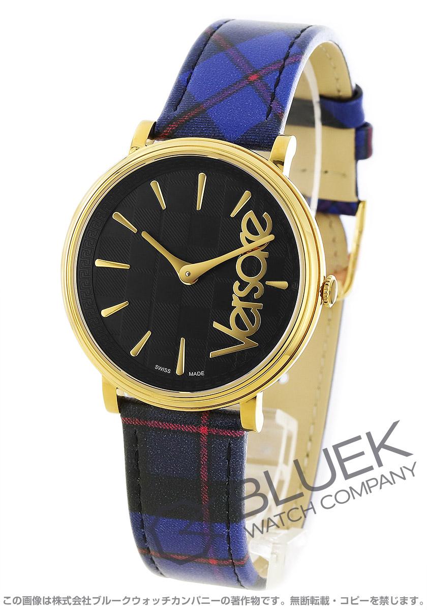 ヴェルサーチ V-サークル タータン 腕時計 ユニセックス VERSACE VE8100218