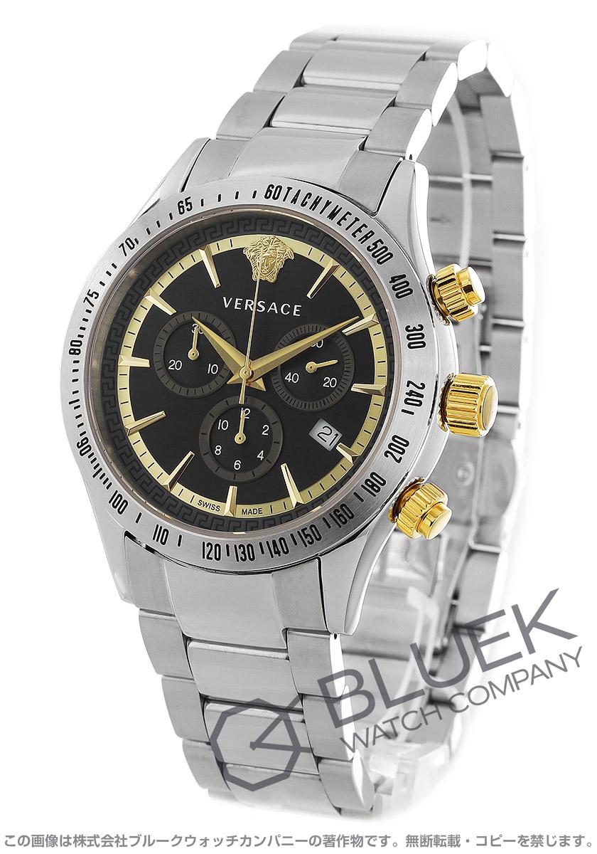 ヴェルサーチ クラシック クロノグラフ 腕時計 メンズ VERSACE VEV700419