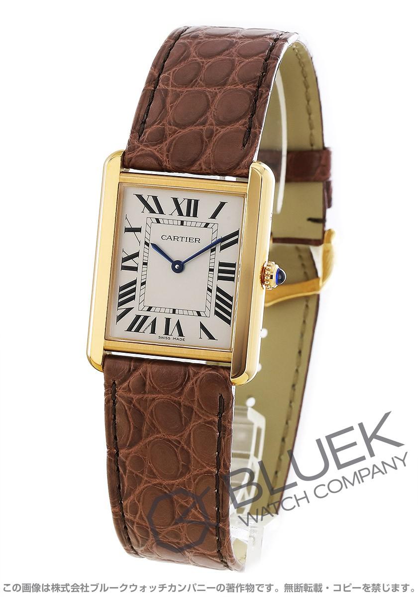 カルティエ タンク ソロ アリゲーターレザー 腕時計 ユニセックス Cartier W5200025