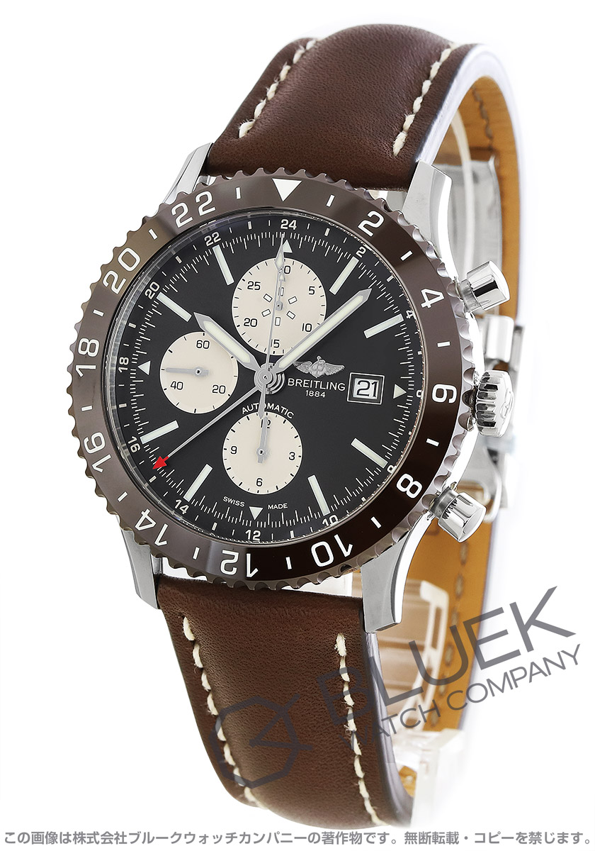 ブライトリング クロノライナー クロノグラフ 腕時計 メンズ BREITLING Y241Q21-KBD