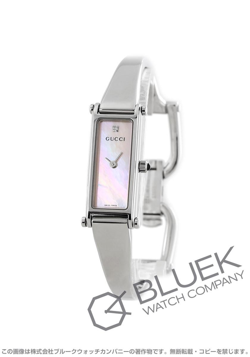 グッチ GUCCI 腕時計 バングル ダイヤ レディース YA015554