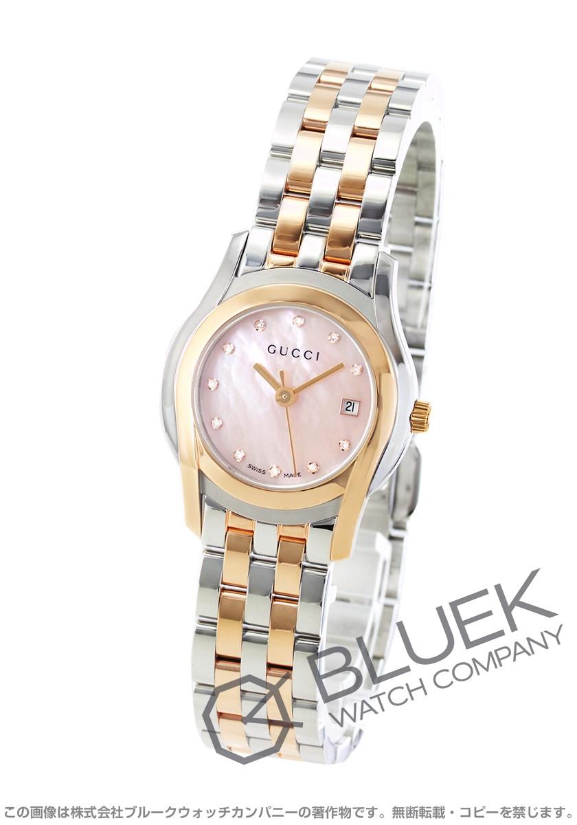 グッチ Gクラス ダイヤ 腕時計 レディース GUCCI YA055536