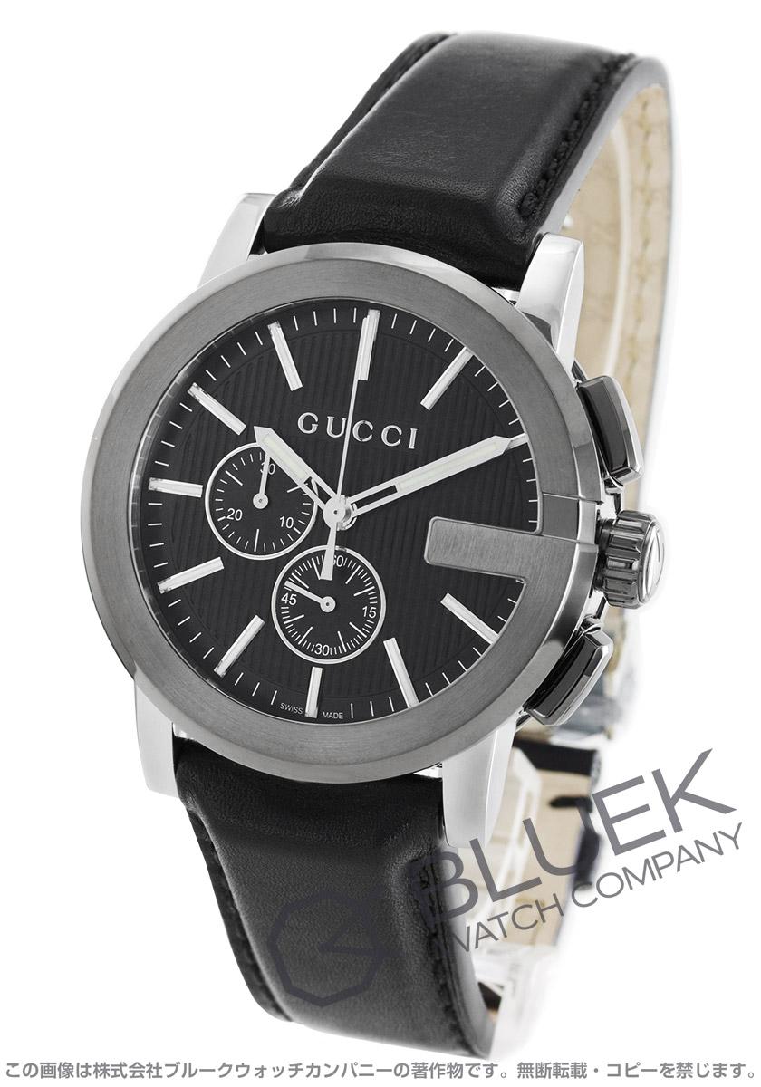 online store 5088b f2ede グッチ Gクロノ クロノグラフ 腕時計 メンズ GUCCI YA101205