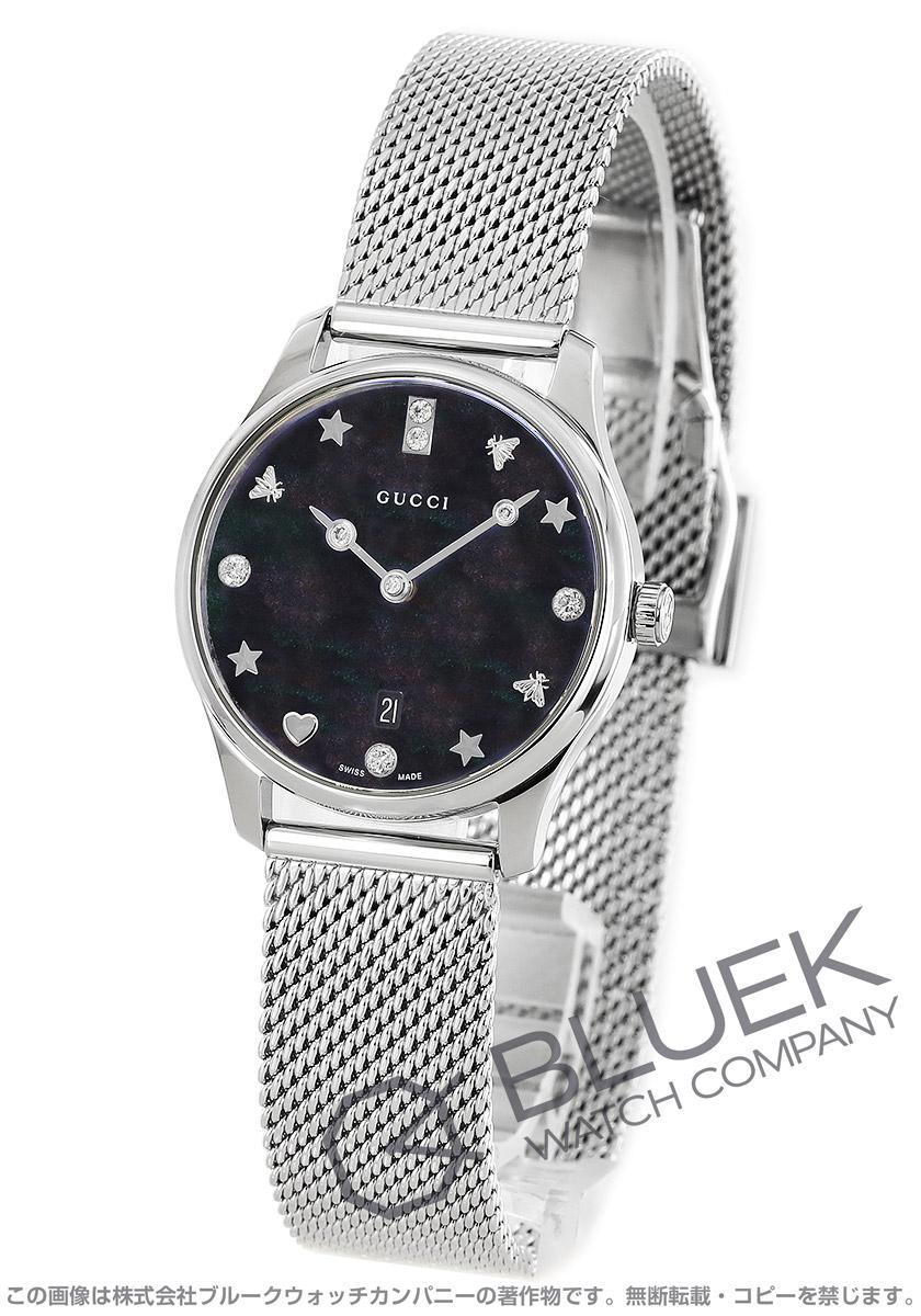 グッチ Gタイムレス ダイヤ 腕時計 レディース GUCCI YA1265001