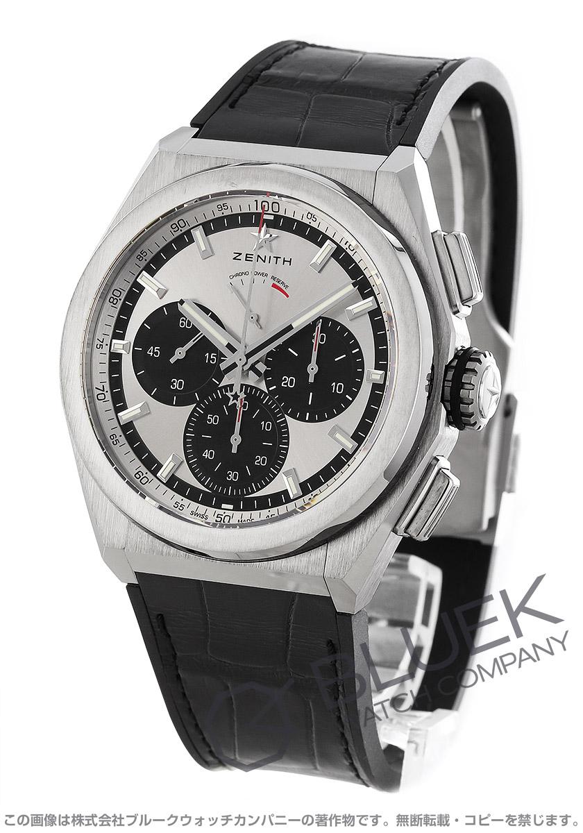 ゼニス デファイ エル プリメロ 21 クロノグラフ パワーリザーブ アリゲーターレザー 腕時計 メンズ Zenith 95.9001.9004/01.R582