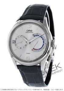 オリス アートリエ キャリバー111 パワーリザーブ アリゲーターレザー 腕時計 メンズ ORIS 111 7700 4061D