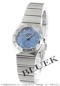 オメガ コンステレーション ブラッシュ プリュム ダイヤ 腕時計 レディース OMEGA 123.10.24.60.57.001