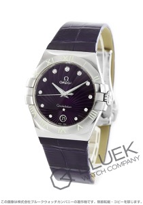 オメガ コンステレーション ダイヤ アリゲーターレザー 腕時計 レディース OMEGA 123.13.35.60.60.001