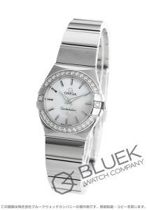 オメガ コンステレーション ポリッシュ ダイヤ 腕時計 レディース OMEGA 123.15.24.60.05.002