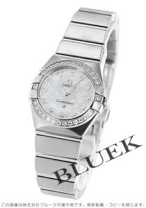 オメガ コンステレーション ブラッシュ ダイヤ 腕時計 レディース OMEGA 123.15.24.60.55.005