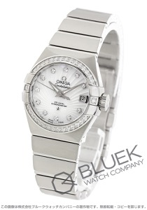 オメガ コンステレーション ブラッシュ ダイヤ 腕時計 レディース OMEGA 123.15.27.20.55.001