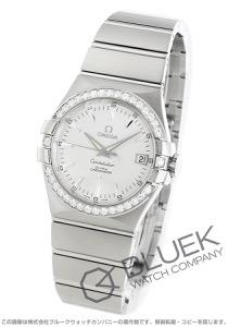 オメガ コンステレーション ブラッシュ ダイヤ 腕時計 ユニセックス OMEGA 123.15.35.20.02.001