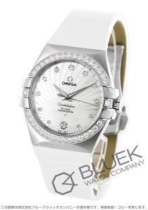 オメガ コンステレーション ダイヤ アリゲーターレザー 腕時計 レディース OMEGA 123.18.35.20.55.001