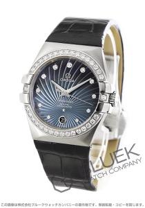 オメガ コンステレーション ダイヤ アリゲーターレザー 腕時計 レディース OMEGA 123.18.35.20.56.001
