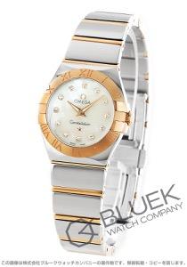 オメガ コンステレーション ポリッシュ ダイヤ 腕時計 レディース OMEGA 123.20.24.60.55.003