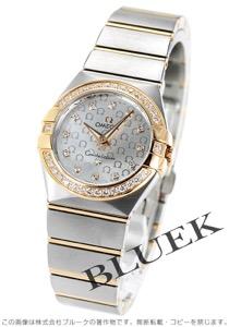 オメガ コンステレーション ブラッシュ ダイヤ 腕時計 レディース OMEGA 123.25.27.60.52.001