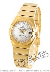 オメガ コンステレーション ブラッシュ ダイヤ YG金無垢 腕時計 レディース OMEGA 123.50.27.20.55.002
