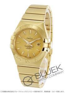 オメガ コンステレーション ブラッシュ YG金無垢 腕時計 レディース OMEGA 123.50.31.20.08.001