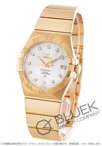 オメガ コンステレーション ブラッシュ ダイヤ RG金無垢 腕時計 ユニセックス OMEGA 123.50.35.20.52.001