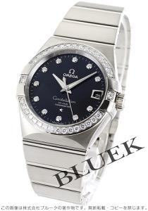 オメガ コンステレーション ブラッシュ ダイヤ WG金無垢 腕時計 メンズ OMEGA 123.55.38.21.51.001