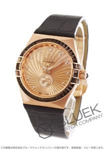 オメガ コンステレーション ブラッシュ RG金無垢 アリゲーターレザー 世界限定88本 腕時計 レディース OMEGA 123.58.35.20.99.001