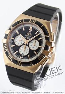 オメガ コンステレーション ダブルイーグル クロノグラフ RG金無垢 腕時計 メンズ OMEGA 1619.51.91
