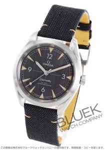 オメガ シーマスター レイルマスター マスタークロノメーター キャンパスレザー 腕時計 メンズ OMEGA 220.12.40.20.01.001