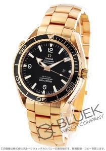 オメガ シーマスター プラネットオーシャン 600m防水 RG金無垢 腕時計 メンズ OMEGA 222.60.46.20.01.001