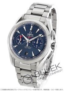 オメガ シーマスター アクアテラ クロノグラフ GMT 腕時計 メンズ OMEGA 231.10.43.52.03.001