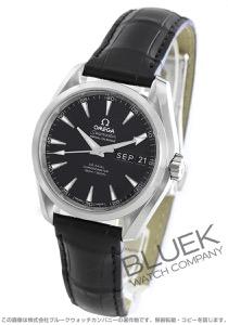 オメガ シーマスター アクアテラ アニュアルカレンダー アリゲーターレザー 腕時計 メンズ OMEGA 231.13.39.22.01.001