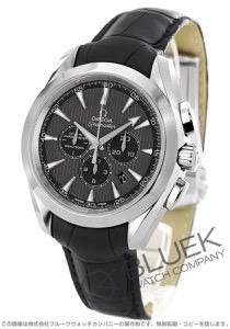 オメガ シーマスター アクアテラ クロノグラフ アリゲーターレザー 腕時計 メンズ OMEGA 231.13.44.50.06.001