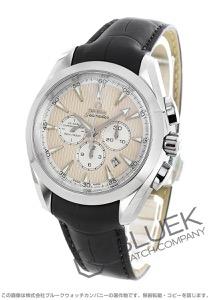 オメガ シーマスター アクアテラ クロノグラフ アリゲーターレザー 腕時計 メンズ OMEGA 231.13.44.50.09.001