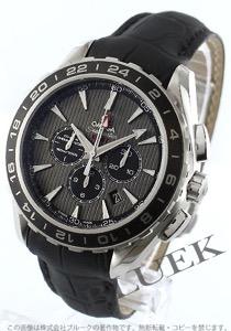 オメガ シーマスター アクアテラ クロノグラフ GMT 腕時計 メンズ OMEGA 231.13.44.52.06.001