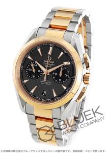 オメガ シーマスター アクアテラ クロノグラフ GMT 腕時計 メンズ OMEGA 231.20.43.52.06.001