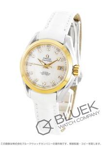 オメガ シーマスター アクアテラ ダイヤ アリゲーターレザー 腕時計 レディース OMEGA 231.23.30.20.55.002