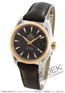 オメガ シーマスター アクアテラ アニュアルカレンダー アリゲーターレザー 腕時計 メンズ OMEGA 231.23.39.22.06.001