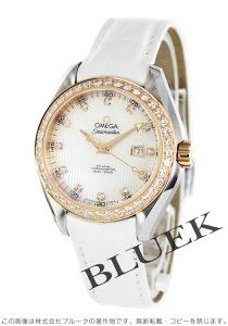 オメガ シーマスター アクアテラ ダイヤ アリゲーターレザー 腕時計 レディース OMEGA 231.28.34.20.55.002