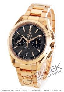 オメガ シーマスター アクアテラ クロノグラフ GMT RG金無垢 腕時計 メンズ OMEGA 231.50.43.52.06.001