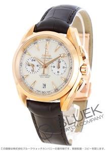 オメガ シーマスター アクアテラ クロノグラフ GMT RG金無垢 アリゲーターレザー 腕時計 メンズ OMEGA 231.53.43.52.02.001