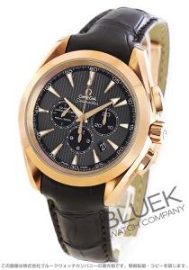 オメガ シーマスター アクアテラ クロノグラフ RG金無垢 アリゲーターレザー 腕時計 メンズ OMEGA 231.53.44.50.06.001