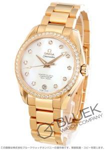 オメガ シーマスター アクアテラ ダイヤ RG金無垢 腕時計 ユニセックス OMEGA 231.55.39.21.55.001