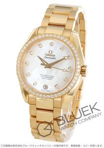 オメガ シーマスター アクアテラ ダイヤ YG金無垢 腕時計 メンズ OMEGA 231.55.39.21.55.002