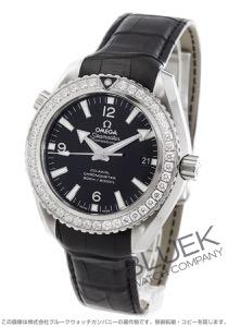 オメガ シーマスター プラネットオーシャン 600m防水 ダイヤ アリゲーターレザー 腕時計 メンズ OMEGA 232.18.42.21.01.001