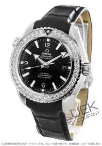 オメガ シーマスター プラネットオーシャン 600m防水 ダイヤ アリゲーターレザー 腕時計 メンズ OMEGA 232.18.46.21.01.001
