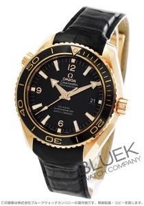 オメガ シーマスター プラネットオーシャン セラゴールド 600m防水 RG金無垢 アリゲーターレザー 腕時計 メンズ OMEGA 232.63.46.21.01.001